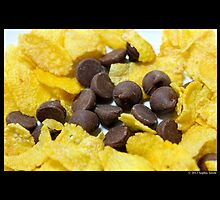 Kellogg Corn Flakes With Nestle Chocolate Chips  by © Sophie W. Smith