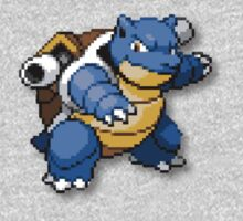 Blastoise - Throwback Blue by jcalardo