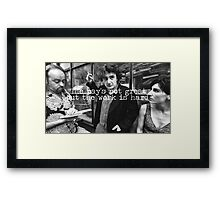 Black Books Framed Print