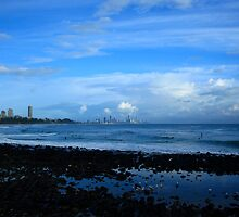 Burleigh Heads After The Rain Passed by Noel Elliot