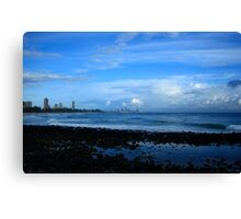 Burleigh Heads After The Rain Passed Canvas Print