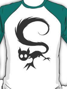 SquirrelCat - Grey T-Shirt