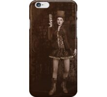 Steampunk - Lady Grace iPhone Case/Skin
