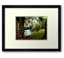 Our Place... In The Walk... Framed Print