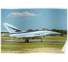 British Aerospace EAP ZF534 taxying Poster