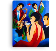 NIGHT AT THE CLUB Canvas Print