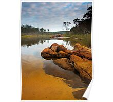 A Still Morning on Lake Tamboon Poster