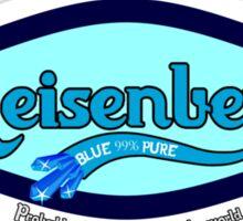 Heisenberg Blue 99% Pure   Carlsberg Spoof   Breaking Bad Sticker