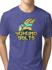 Monster Hunter All Stars - Yukumo Bolts Tri-blend T-Shirt