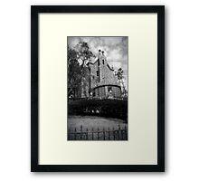 Haunted Mansion Framed Print