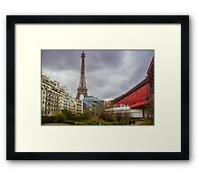 Eiffel Tower from Branley Museum Framed Print