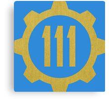 Fallout 4 - Vault 111 Canvas Print