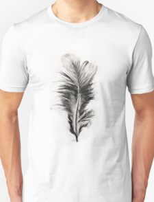 Feather in Charcoal T-Shirt