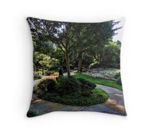 Winery Garden 9 Throw Pillow