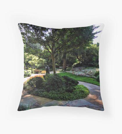 Winery Garden 9 Throw Pillow