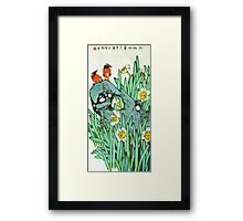 Small Chat  Framed Print