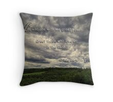 Titus 3:15 Throw Pillow