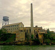 Alcatraz from the West  by Robert Meyers-Lussier
