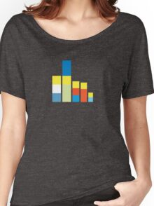 Simpsons on the Block Women's Relaxed Fit T-Shirt