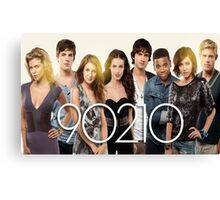 90210-new cast Canvas Print
