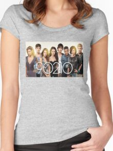 90210-new cast Women's Fitted Scoop T-Shirt