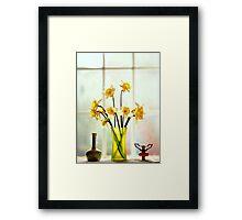 flowers 'n things.. Framed Print