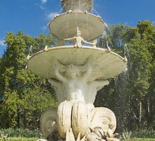 The Hochgurtel Fountain, Carlton Gardens, Melbourne Australia by Stephen  Shelley