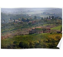 Rolling Tuscany Poster