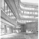 Manhattan law office drwing by Mike Theuer