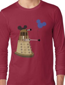 Dalek on Vacation Long Sleeve T-Shirt