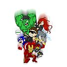 avengers assemble by Kennychimaru