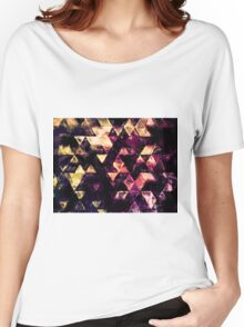 triangle impressionism Women's Relaxed Fit T-Shirt