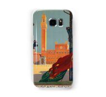Vintage poster - Tuscany-Siena Samsung Galaxy Case/Skin