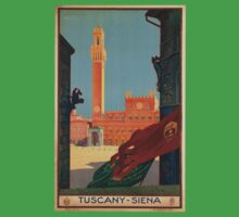 Vintage poster - Tuscany-Siena Kids Clothes