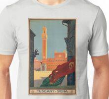 Vintage poster - Tuscany-Siena Unisex T-Shirt