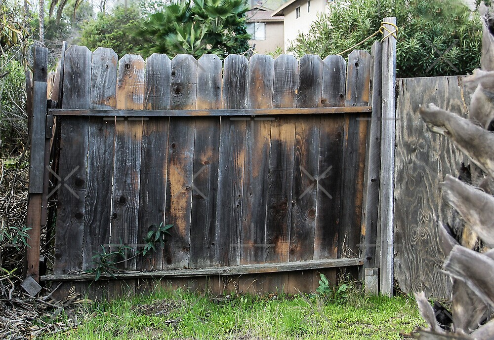 Old Fence by heatherfriedman