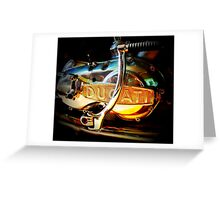 Motorcycle engine beauty Greeting Card