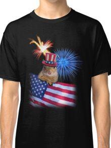 Patriotic Squirrel Classic T-Shirt