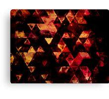 triangle inspiration Canvas Print