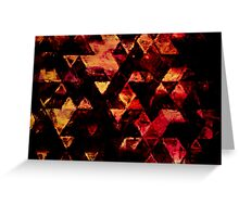 triangle inspiration Greeting Card