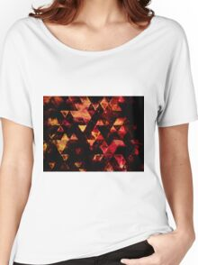 triangle inspiration Women's Relaxed Fit T-Shirt