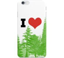I Heart Pine Trees / Forest / Nature iPhone Case/Skin
