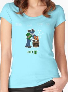 Super Smashed Bros Women's Fitted Scoop T-Shirt