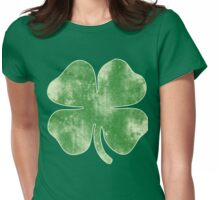 Vintage Shamrock for St. Patrick's Day Party Womens Fitted T-Shirt