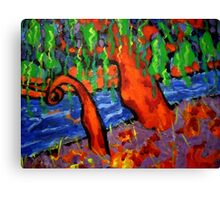 The Fauve Willow Tree Canvas Print