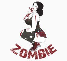Zombie Pinup by ziggyzombie