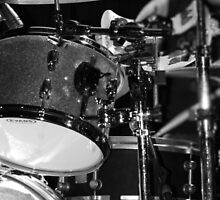 Drums in Black & White by Amanda Vontobel Photography/Random Fandom Stuff