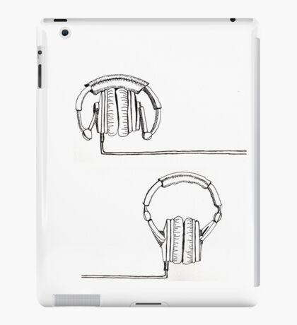 Headphones? Space invaders? iPad Case/Skin