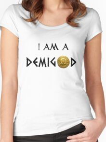 I am a Demigod Women's Fitted Scoop T-Shirt