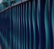 Turquoise fence   by RayaCottrell